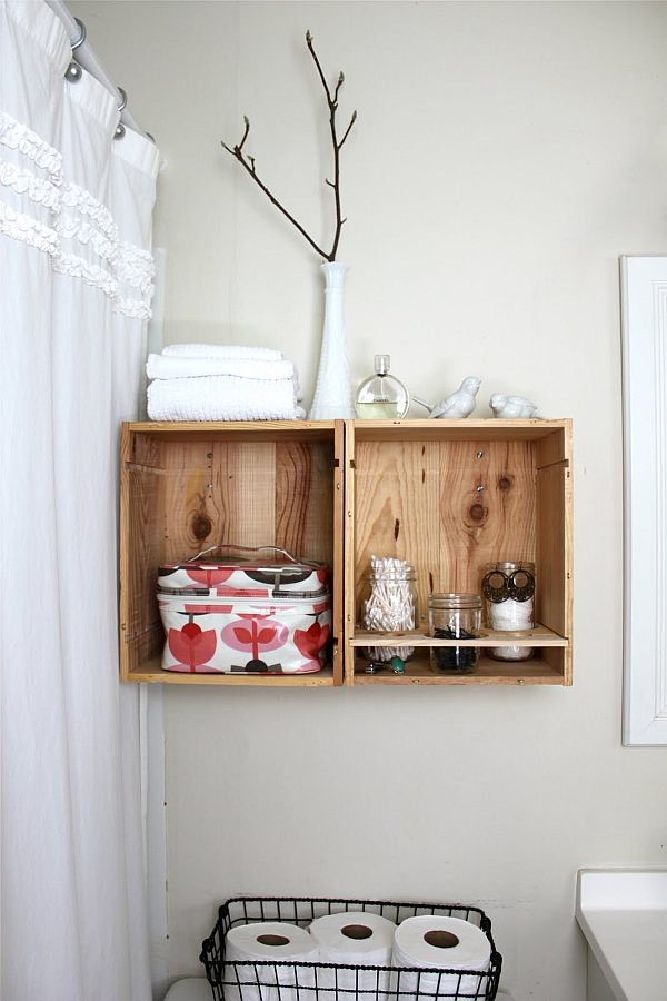Regal selber bauen Badezimmer