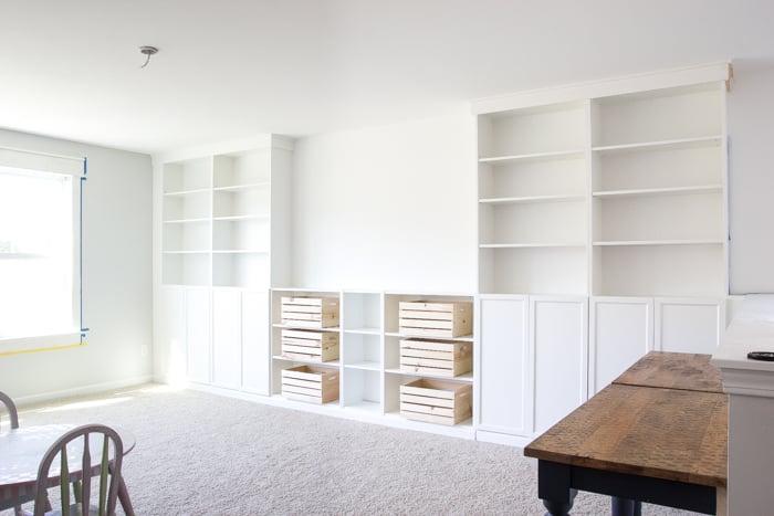 Regal selber bauen mit Ikea
