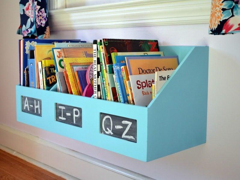 Regal bauen im Kinderzimmer