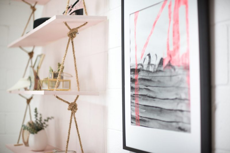 Regal bauen mit Seil