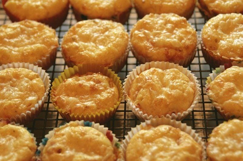 Snacks Party vegetarische Muffins