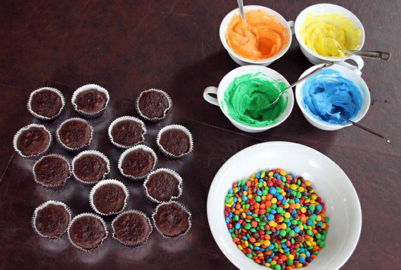 Kindergeburtstag Muffins backen