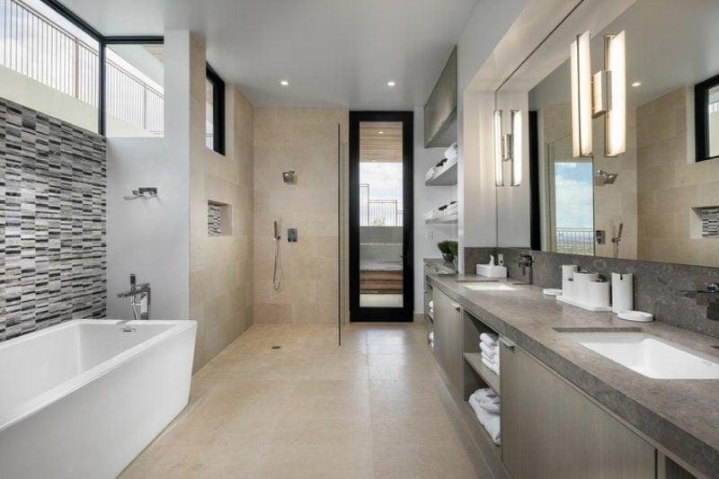 Einfamilienhas Portugal Badezimmer