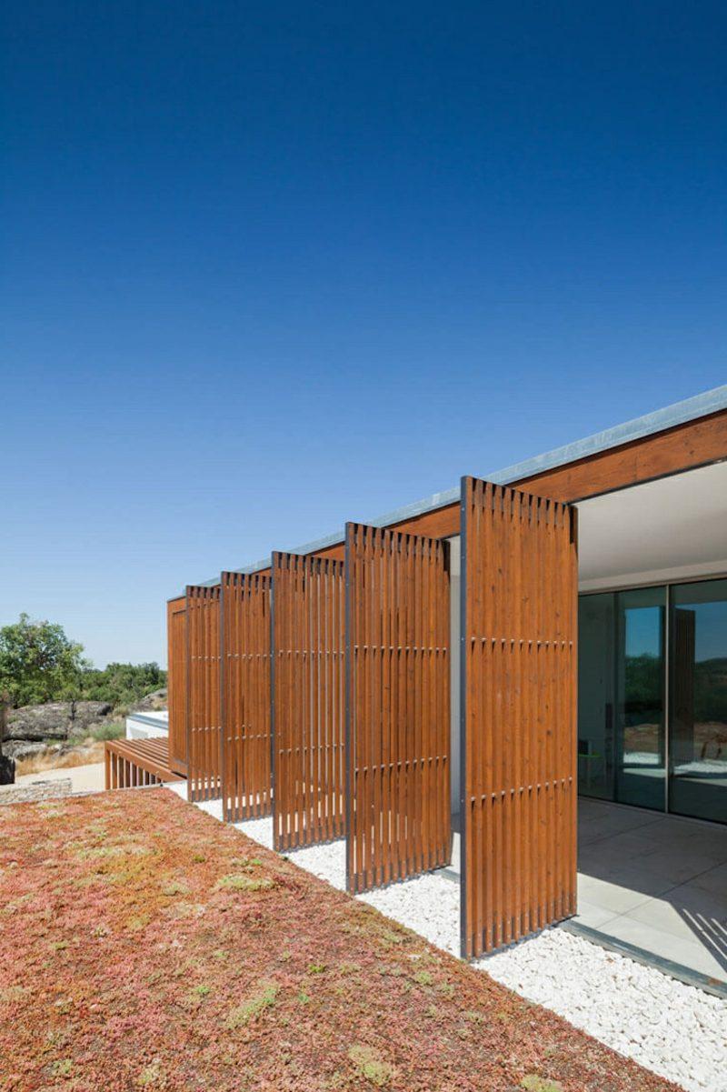 moderne Häuser Portugal Architektenhaus Fassade