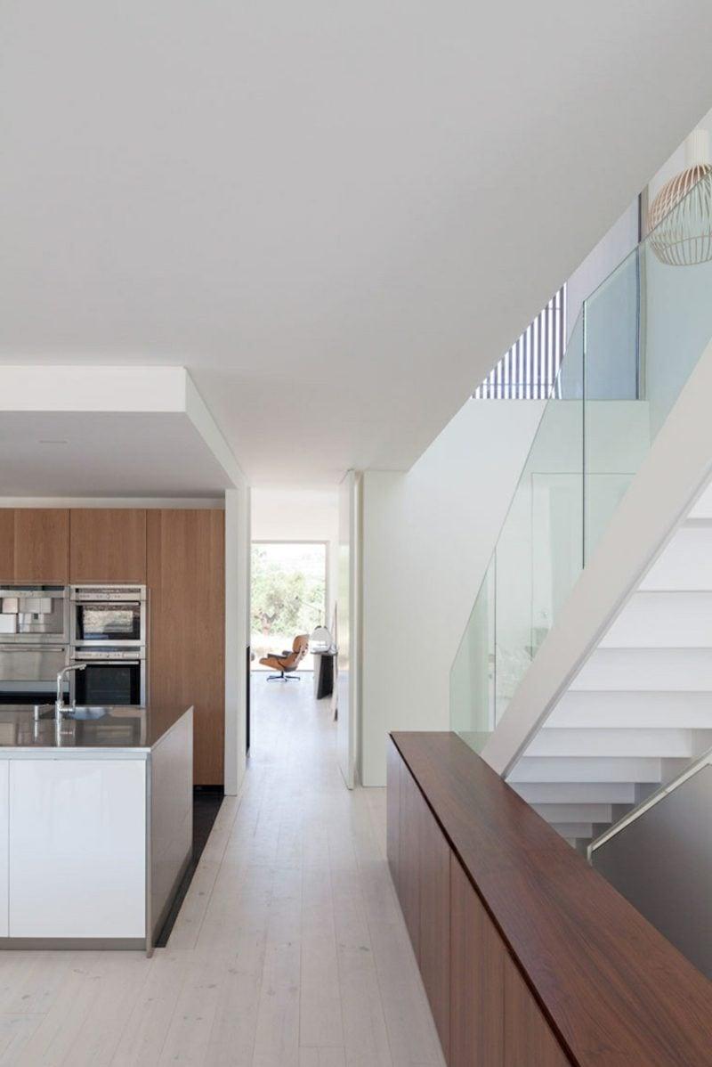 farbakzente interieur einfamilienhaus farbakzente im