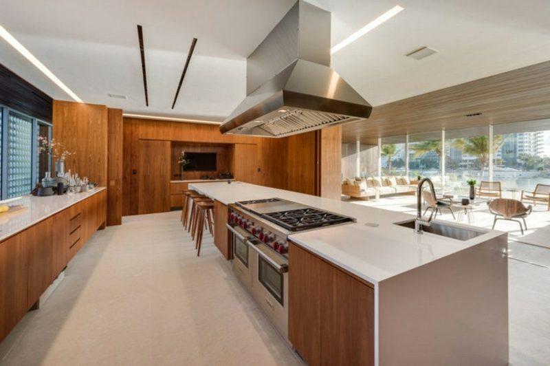 Haus Grundriss Portugal moderne Küche