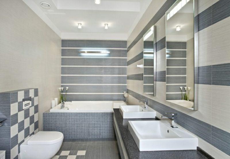moderne badezimmer ? 40 luxuriöse einrichtungsideen - Bad Beleuchtung Modern