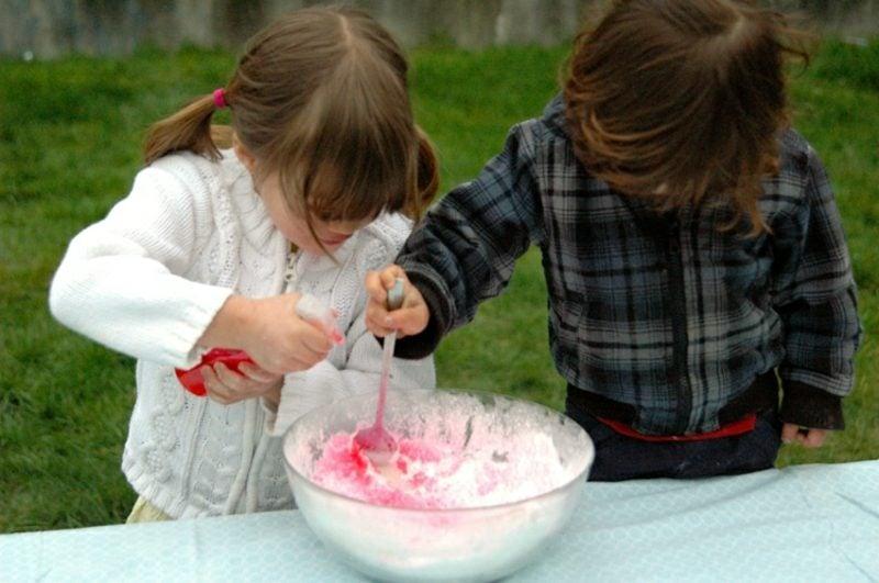 Badekugeln selber machen mit den Kindern