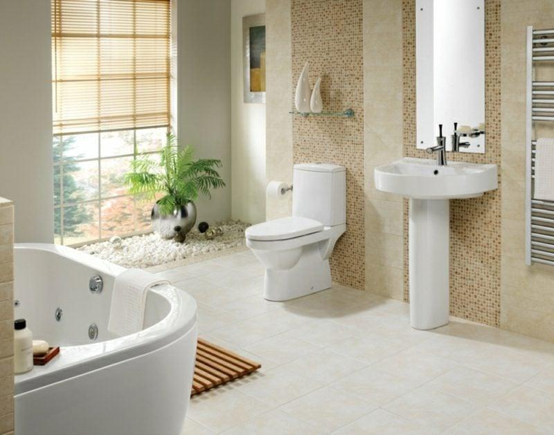 Badezimmer Modernes Design Akzentwand