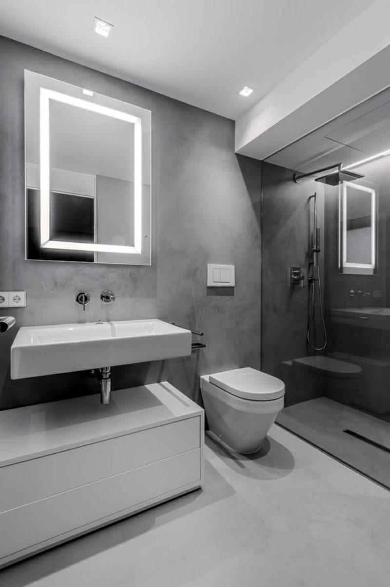 Badezimmer Ideen Spiegelbeleuchtung