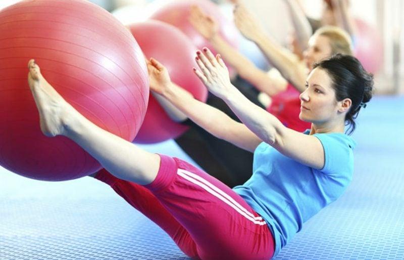 Fett weg Übungen Klappmesser