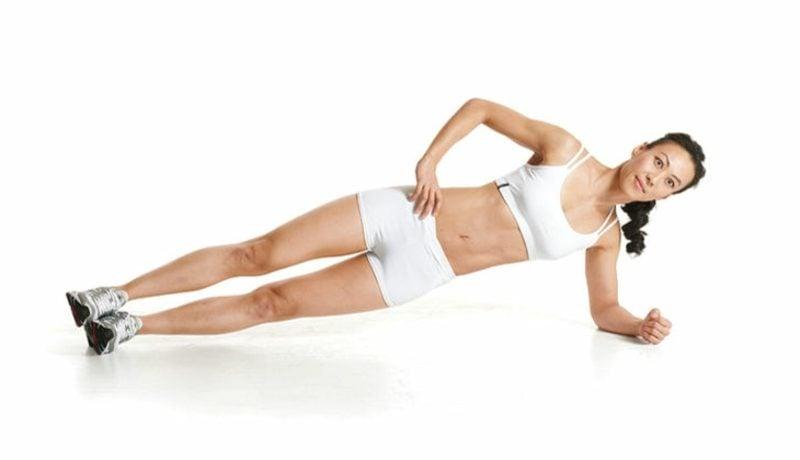 Übungen Seitstütz Krafttraining Kalorienverbrauch