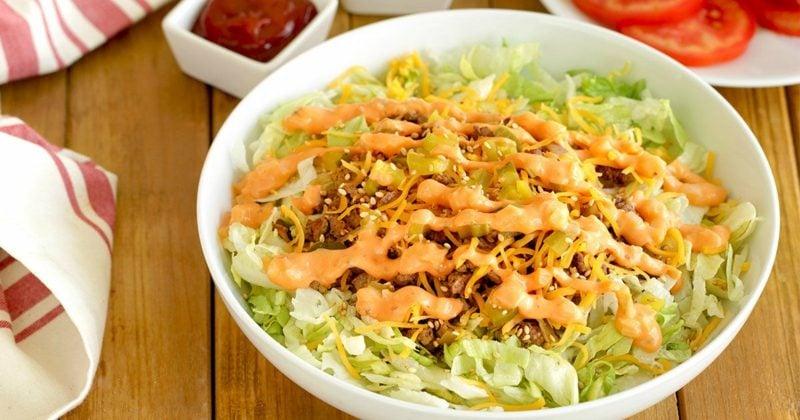 Kalorien Salat Big Mac