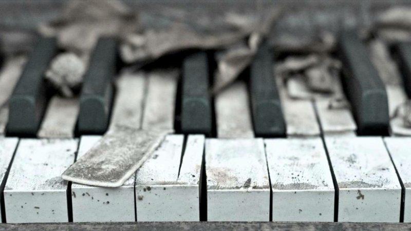 traurige Bilder Piano
