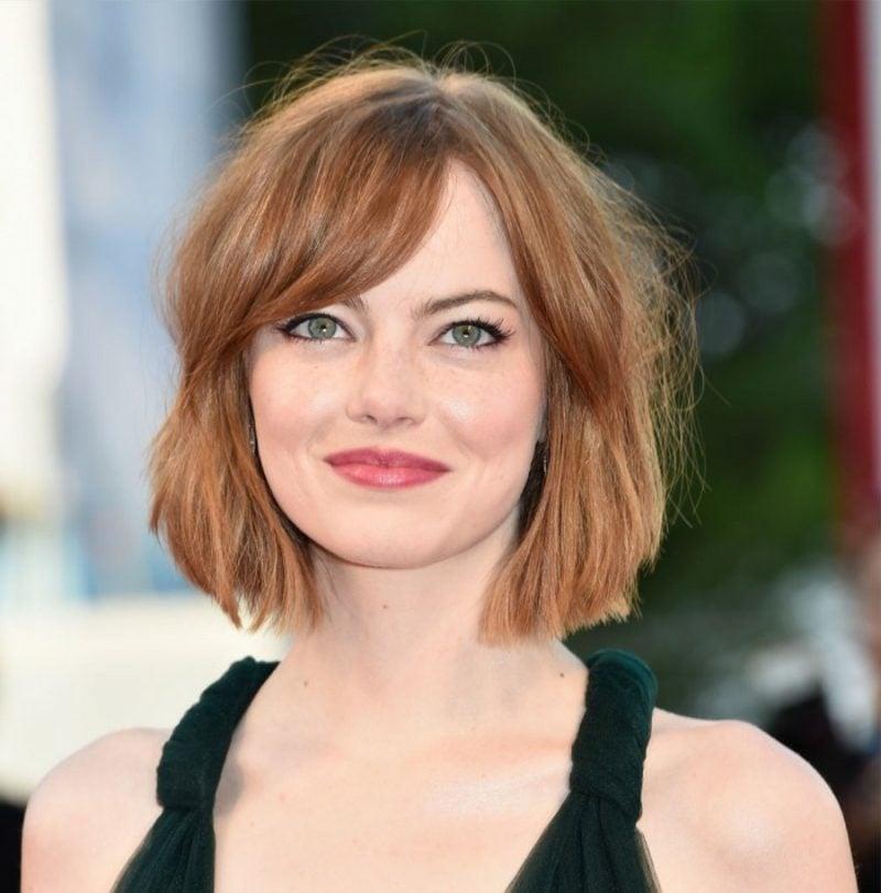 kurze Haare stylen Emma Stone Bob GFrisur