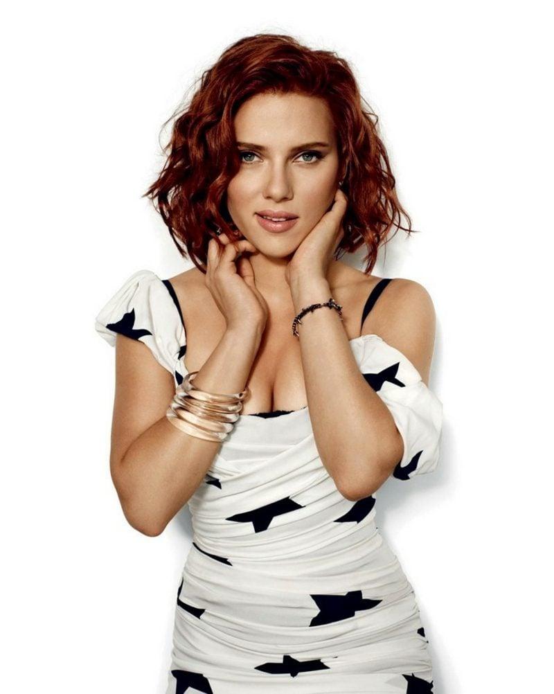 Mahagoni Haarfarbe Scarlett Johansson