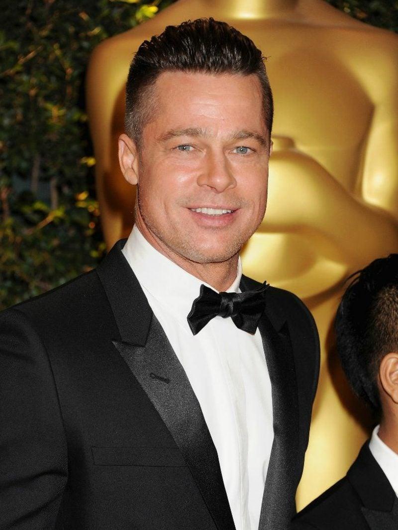 Undercut Männer kurze Haare Brad Pitt