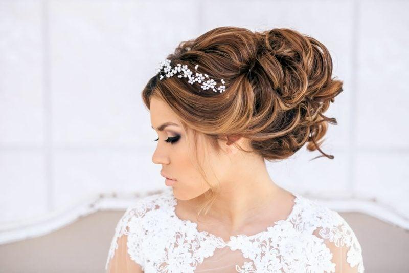 Frisuren für lange Haare Braut