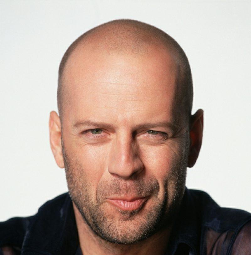 kurze und lange Haare Frisuren Bruce Willis