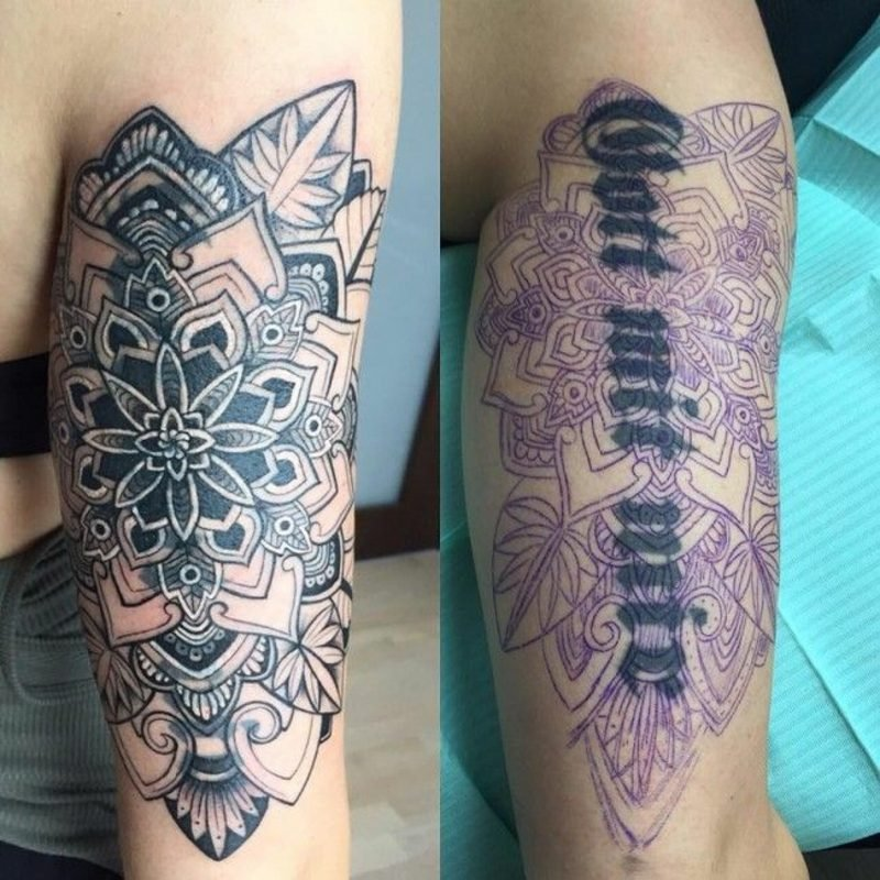 Cover up Tattoo Mann moderne Ideen