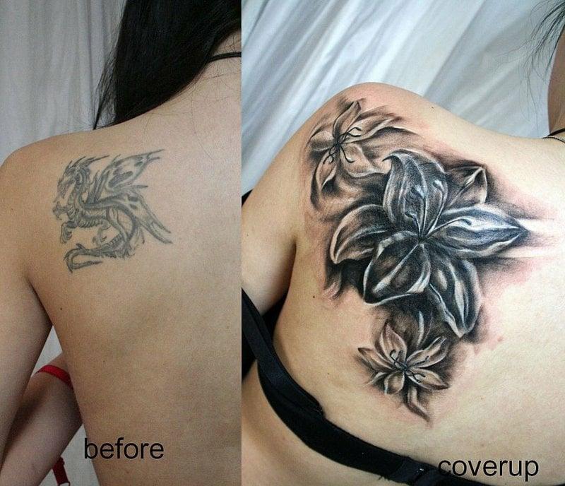 tattoo schulterblatt frau