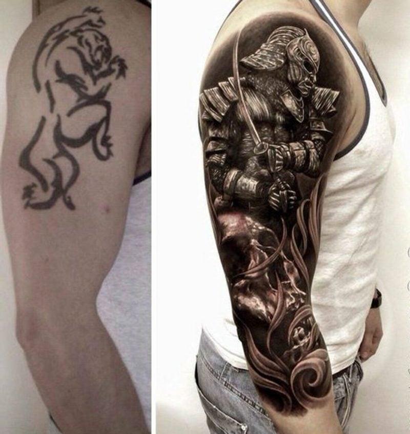 Sich Einen Cover Up Tattoo Stechen Lassen Herrliche Designideen