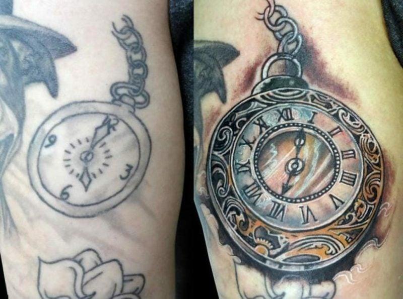 Cover up Tattoos originelle Ideen