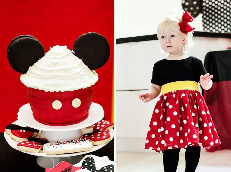 Mottoparty Kindergeburtstag Mini Mouse