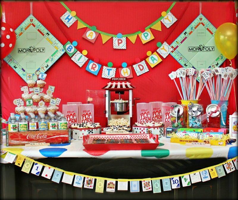 Kindergeburtstag feiern Dekoideen zum Selberamachen