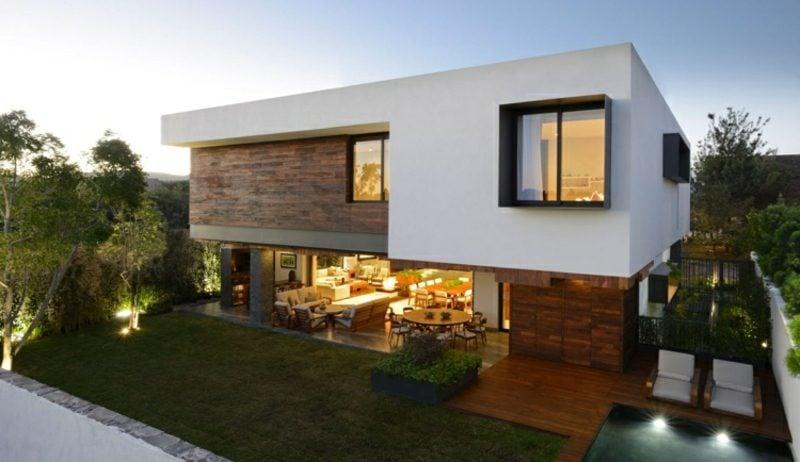 Luxus Haus Mexico eindrucksvolle Fassade