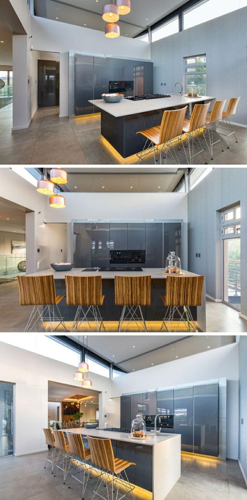 Flachdachhaus Südafrika Küche