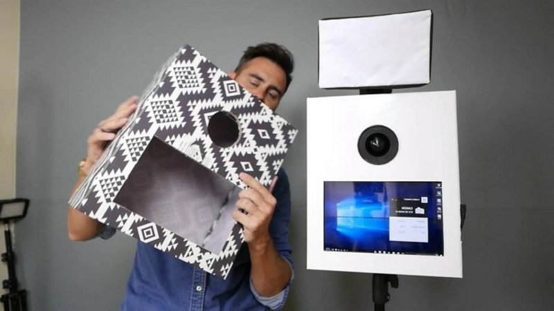 Fotobox selber bauen Karton