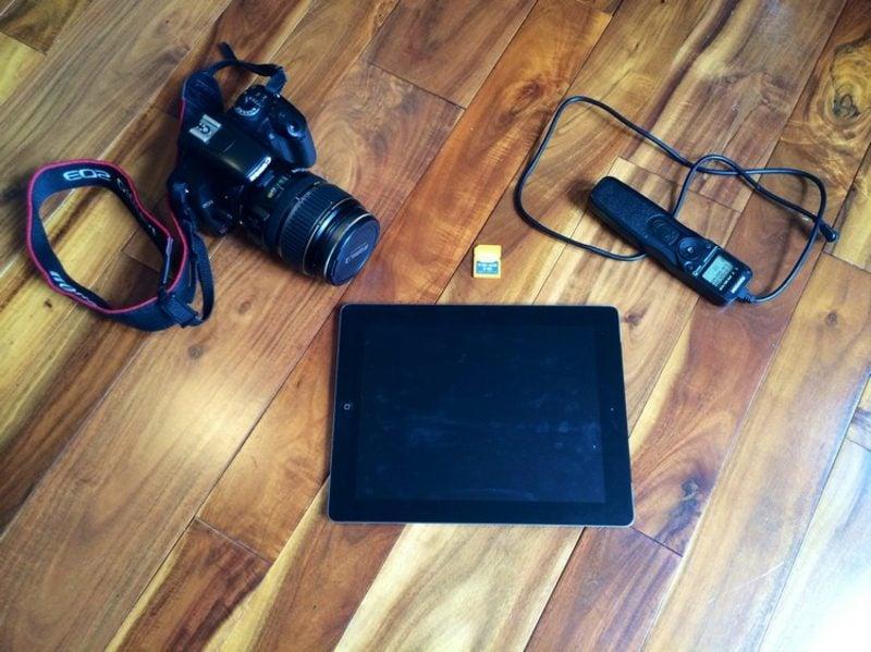 Fotobox mit Laptop selber bauen