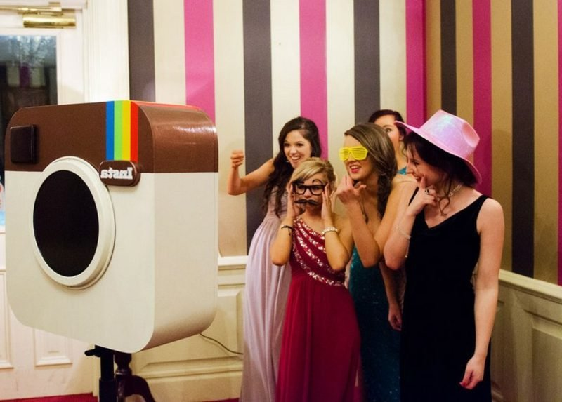 Photo Booth selber bauen kreative DIY Ideen