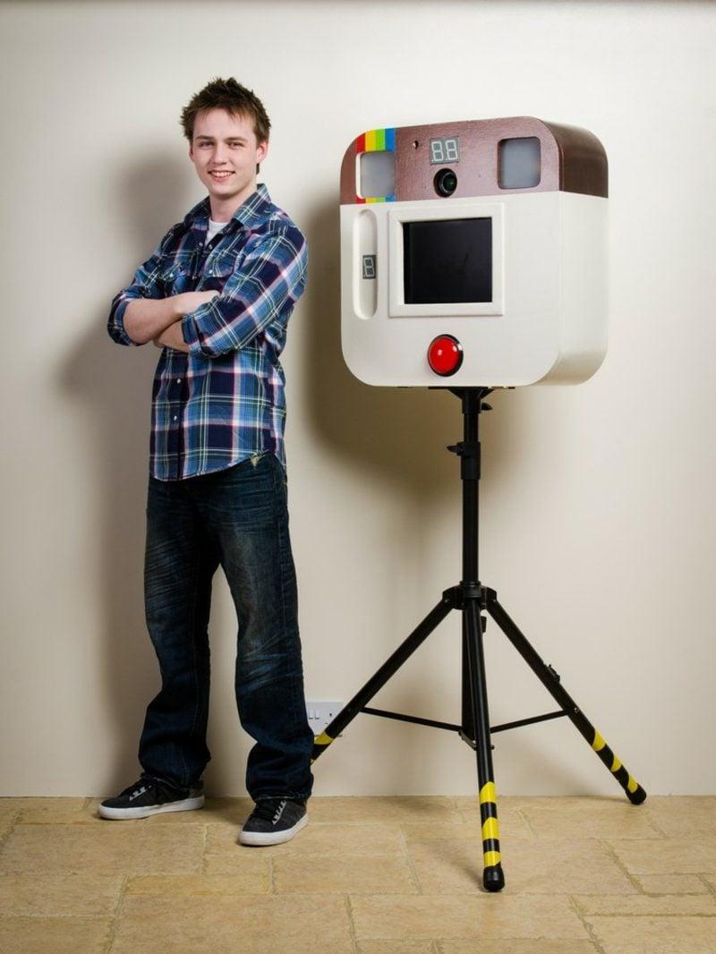 Fotobox bauen Fotos professionell machen