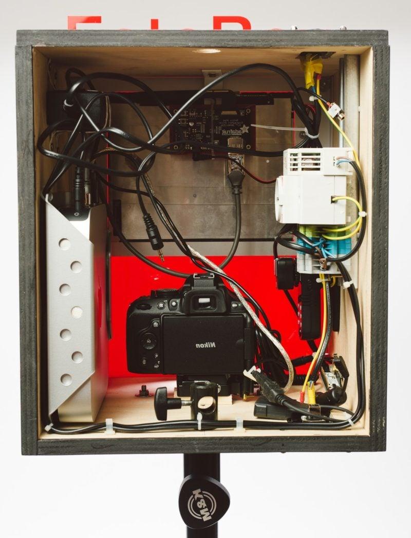 Fotobox bauen mit Kamera und Tablet