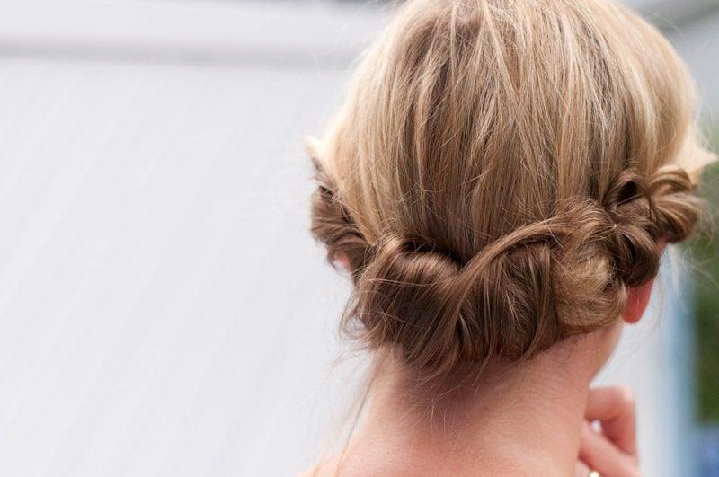 Flechtfrisuren kurze Haare