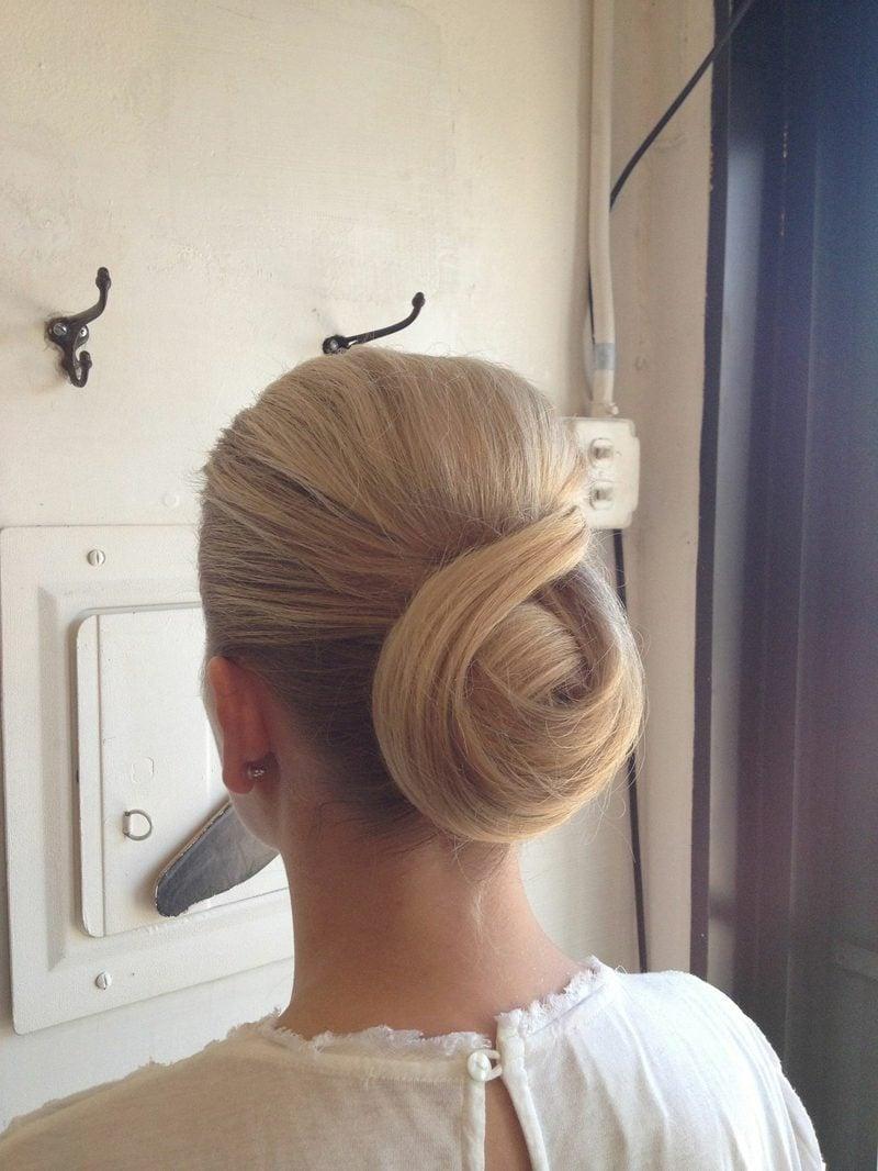 festliche Frisuren Chignon