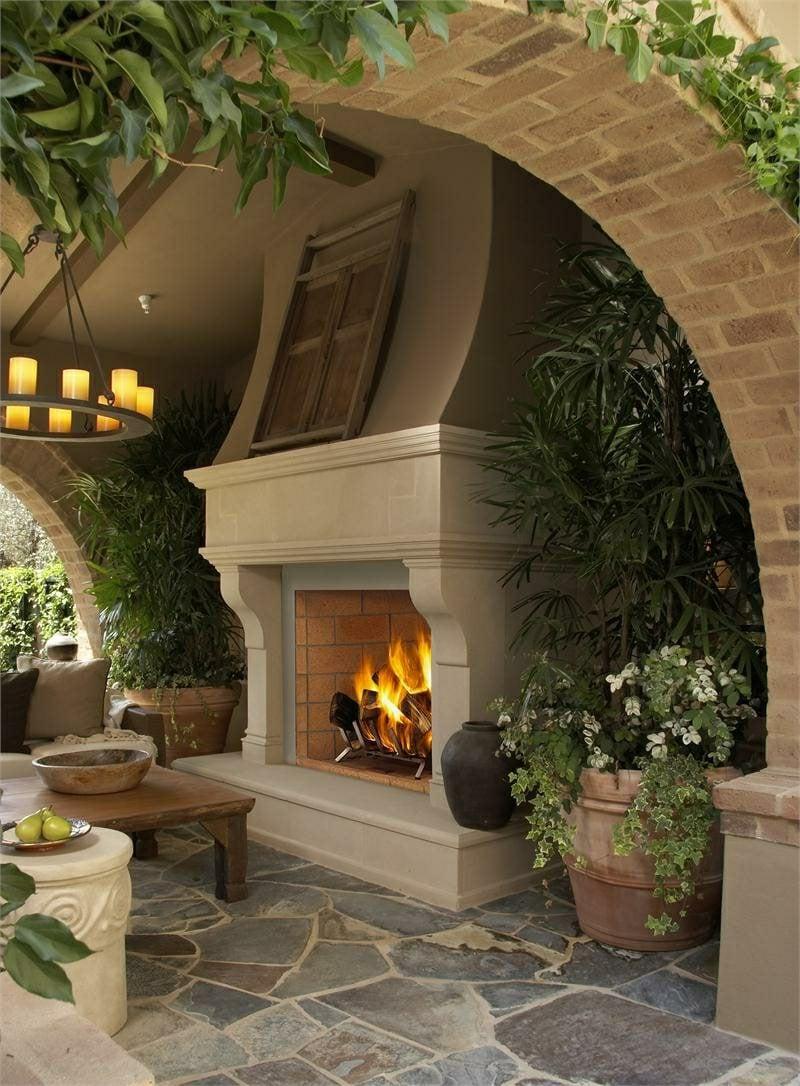 DIY Gartengestaltung Gartenkamin bauen