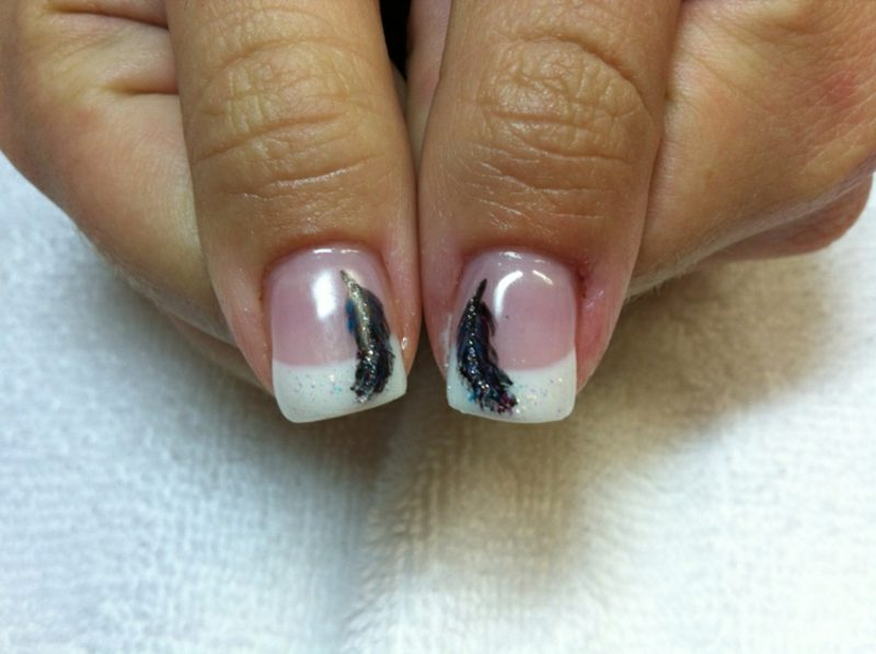 künstliche Fingernägel Gelnägel French
