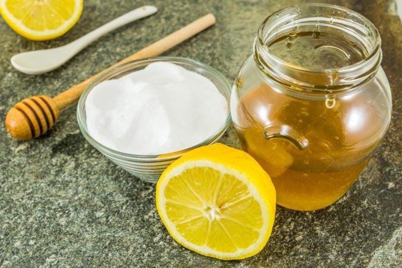 Gesichtsmaske Mitesser Honig Joghurt Zitrone
