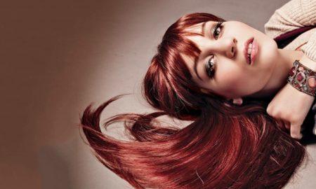 Mahagoni Haarfarbe moderne Nuancen Pflegetipps