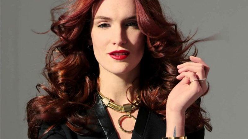Haare rot Mahagoni Haarfarbe