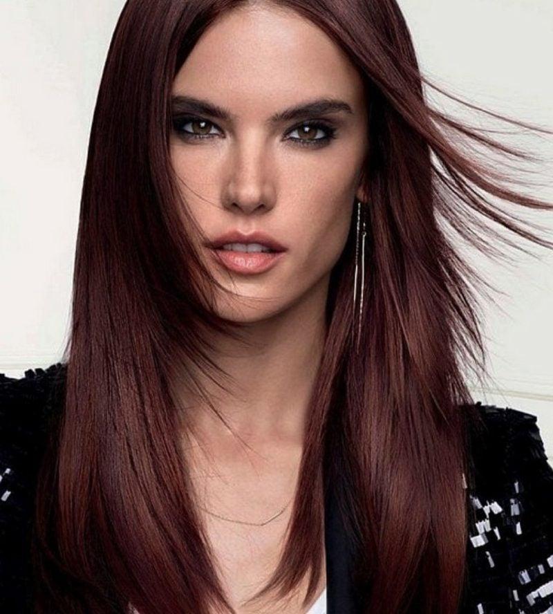 rote Haarfarbe Mahagoni Pflegetipps