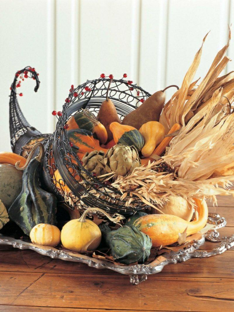 DIY Bastelideen Herbstdeko für den Hauseingang