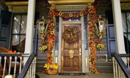 Herbstdeko für den Hauseingang 25 Bastelideen zum Nachmachen