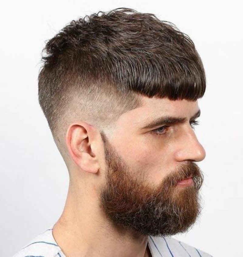 Manner lange kurze haare