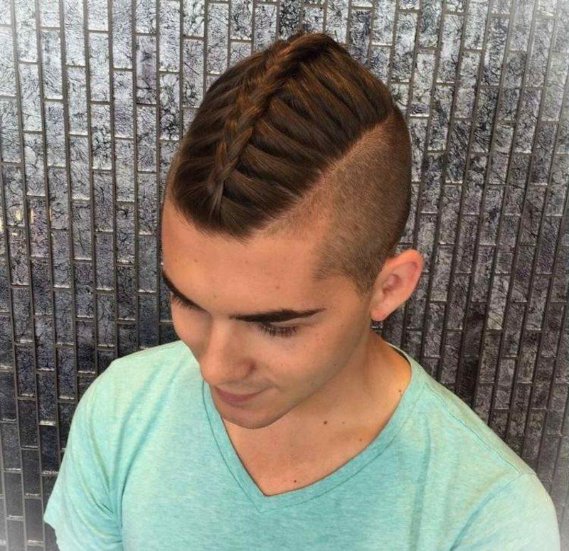 Flechtfrisuren lange Haare Flechtfrisuren kurze Haare Männer