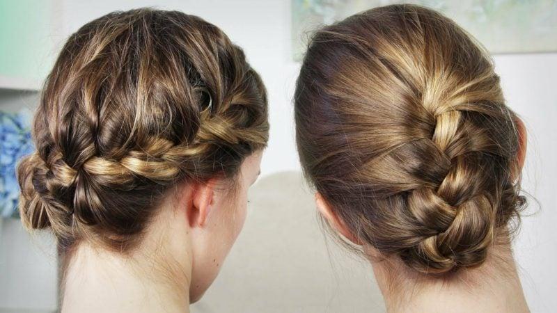 Haarschnitt lange Haare moderne Frisuren
