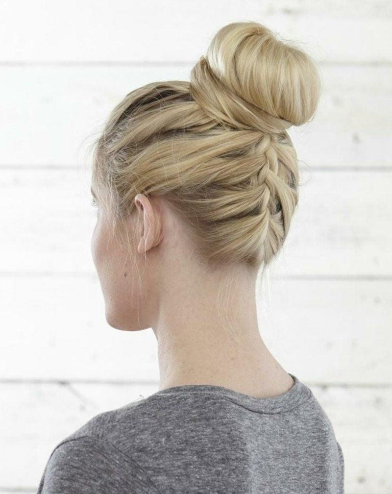 Hochsteckfrisuren lange Haare